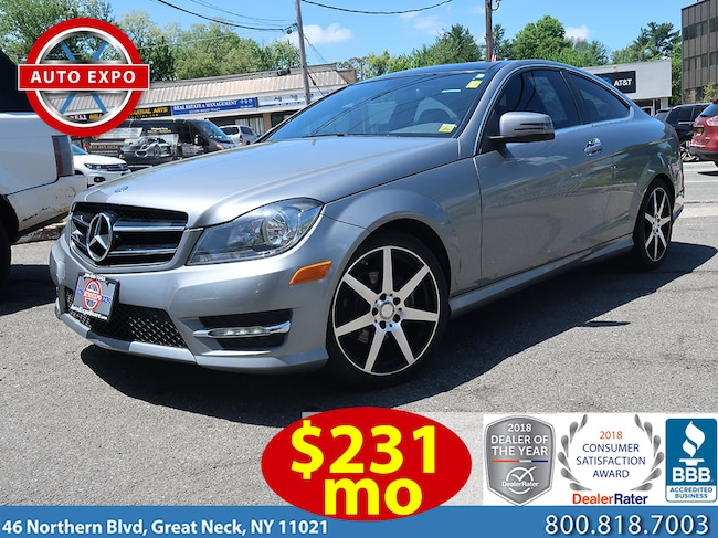 Used 2015 Mercedes-Benz C-Class C250 Sport Apperance Package Coupe For Sale Great Neck, NY
