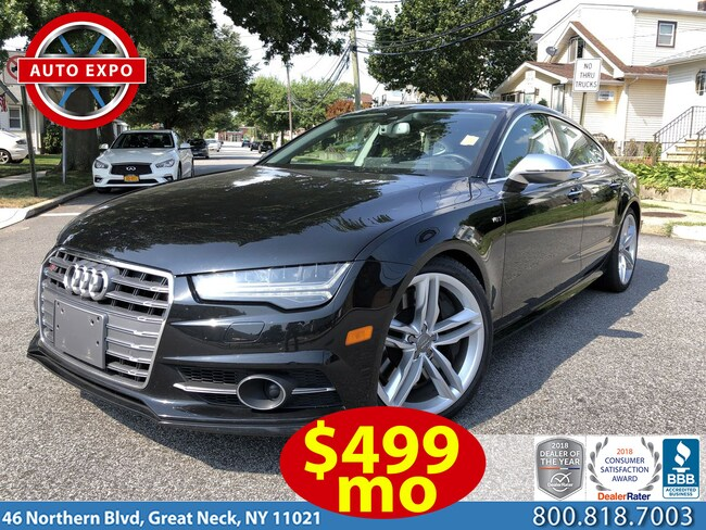 Used 2016 Audi S7 4.0T Hatchback For Sale Great Neck, NY