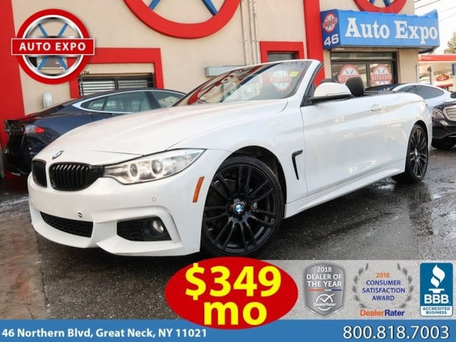 Used 2017 BMW 4 Series 430i Convertible For Sale Great Neck, NY