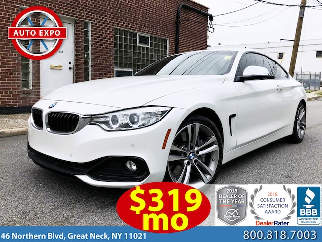 Used 2015 BMW 4 Series 435i Sport Line Coupe For Sale Great Neck, NY
