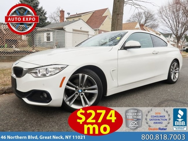 Used 2016 BMW 4 Series 428i Coupe For Sale Great Neck, NY