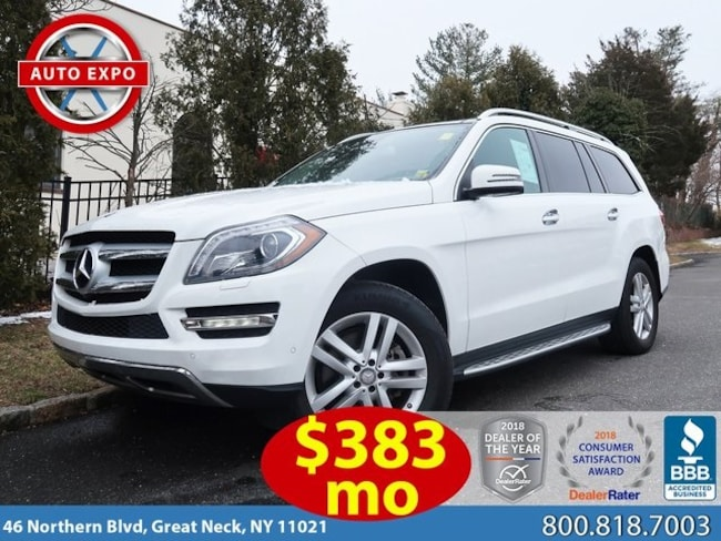 Used 2016 Mercedes-Benz GL-Class GL 450 4Matic SUV For Sale Great Neck, NY