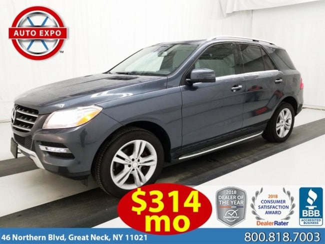 Used 2015 Mercedes-Benz M-Class ML 350 SUV For Sale Great Neck, NY