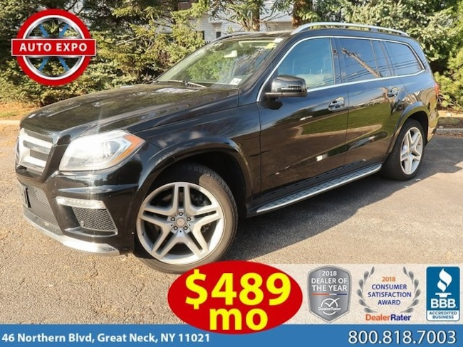 Used 2016 Mercedes-Benz GL-Class GL 550 SUV For Sale Great Neck, NY