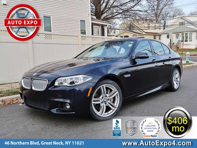 Used 2015 BMW 5-Series 550i M Sport Sedan For Sale Great Neck, NY