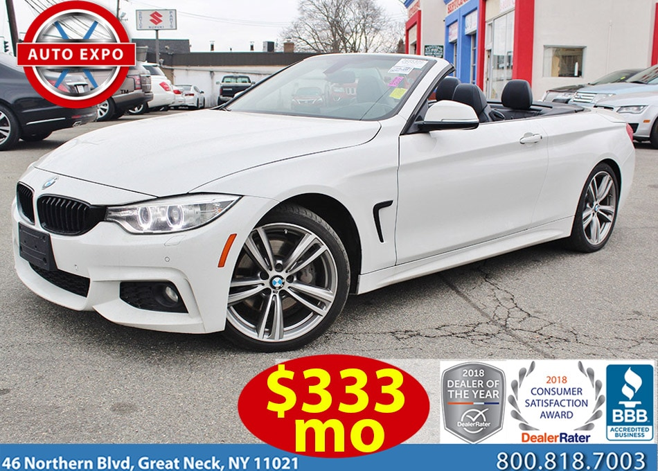 2015 BMW 4 Series 435I M Sport Convertible