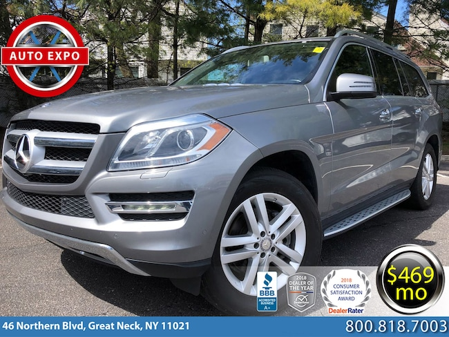 Used 2016 Mercedes-Benz GL-Class GL450 4MATIC SUV For Sale Great Neck, NY