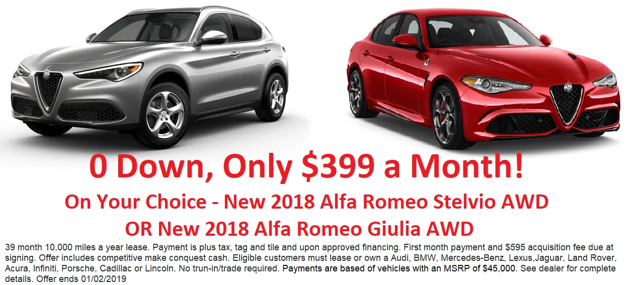 New Vehicles At Auto Express Alfa Romeo Of Erie In Waterford Alfa