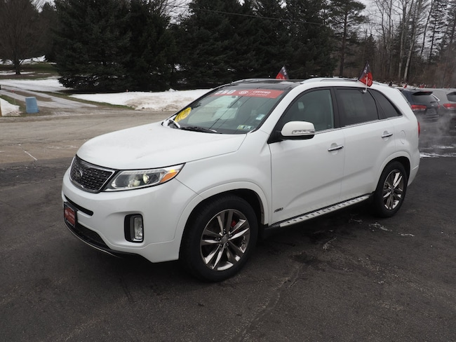used 2015 kia sorento limited v6 awd for sale waterford pa. Black Bedroom Furniture Sets. Home Design Ideas