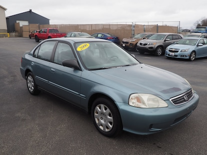 Used 2000 Honda Civic For Sale At Auto Express Fiat Of Erie Vin 2hgej6616yh536062