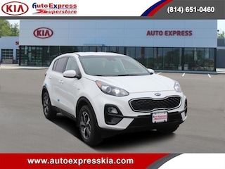 New 2021 Kia Sportage LX AWD SUV KNDPMCAC0M7909110 for sale in Erie, PA