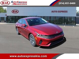 New 2021 Kia K5 LX Auto FWD Sedan 5XXG24J28MG014474 for sale in Erie, PA