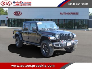 Used 2020 Jeep Gladiator Rubicon Truck Crew Cab 1C6JJTBG0LL151878 for sale in Erie, PA