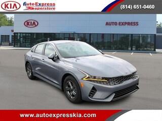 New 2021 Kia K5 LXS Auto FWD Sedan 5XXG14J29MG017144 for sale in Erie, PA