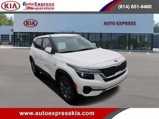 New 2021 Kia Seltos LX IVT AWD SUV KNDEPCAA7M7172503 for sale in Erie, PA