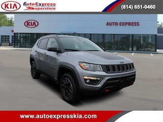 Used 2019 Jeep Compass Trailhawk 4x4 SUV 3C4NJDDB5KT721815 for sale in Erie, PA