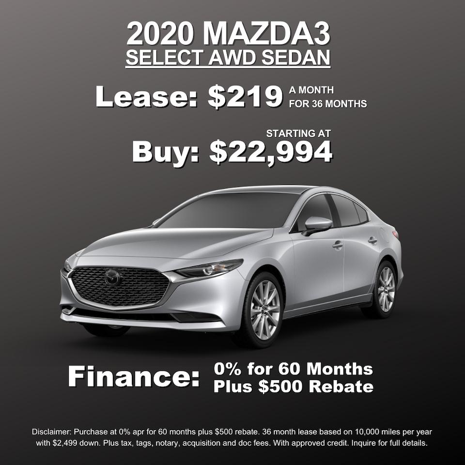 Mazda3 Select