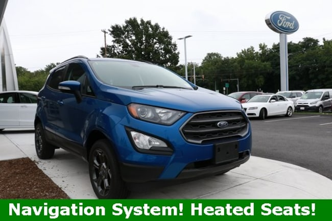 2018 Ford EcoSport SES SUV in Haverhill, MA