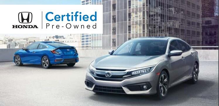 Honda Certified Pre Owned Program
