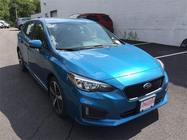2018 Subaru Impreza 2.0i Sport with EyeSight, Moonroof, Blind Spot Detection & Starlink 5-door