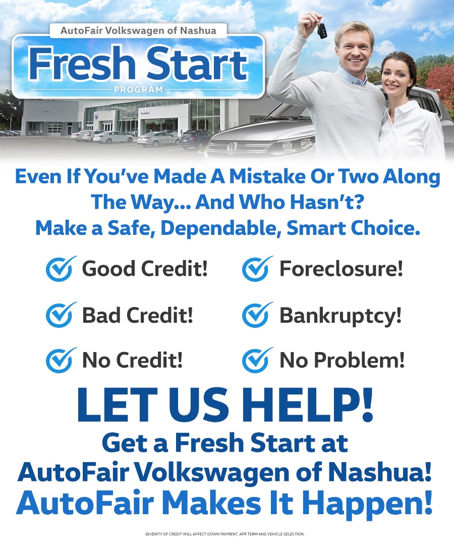 Fresh Start Car Loans In Merrimack Nh 03054 Autofair