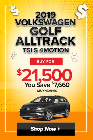 2019 Golf Alltrack TSI S 4MOTION