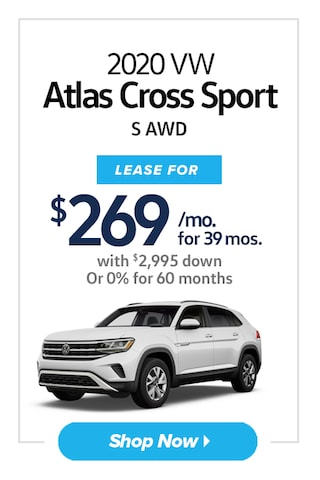 2020 Volkswagen Atlas Cross Sport S AWD