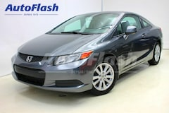 Used 2012 Honda Civic EX Coupe * Toit-Ouvrant/Sunroof Coupe near Montreal