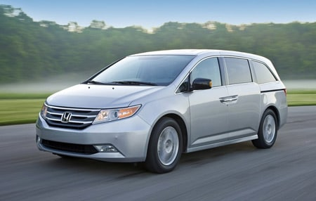 Test Drive Used Honda Odyssey 2011