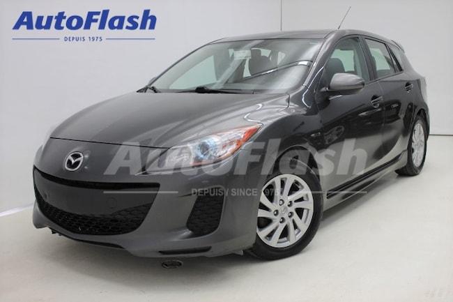 2012 Mazda Mazda3 GS sport Hatchback* M6* Toit-Ouvrant* Clean! Hatchback St-Hubert