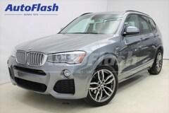 Used 2015 BMW X3 2.0L Turbo Toit-Pano *M-Sport-Pkg *GPS *Push-Start SAV near Montreal
