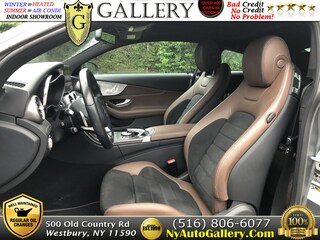 Used  2017 Mercedes-Benz C-Class C 300 Coupe for sale in Westbury, NY