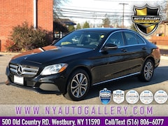 Used 2018 Mercedes-Benz C-Class C 300 4MATIC Sedan for Sale in Westbury, NY