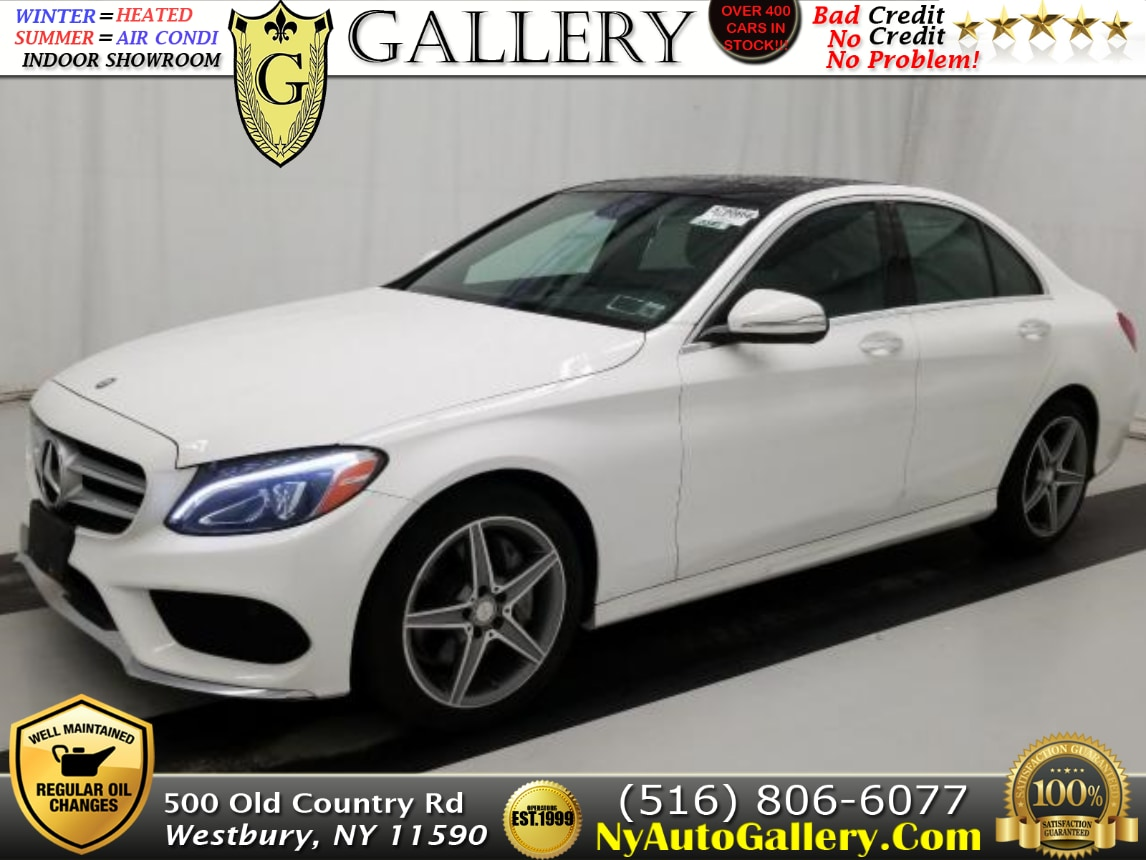 Great 2015 Mercedes Benz C Class C 400 4MATIC Sedan