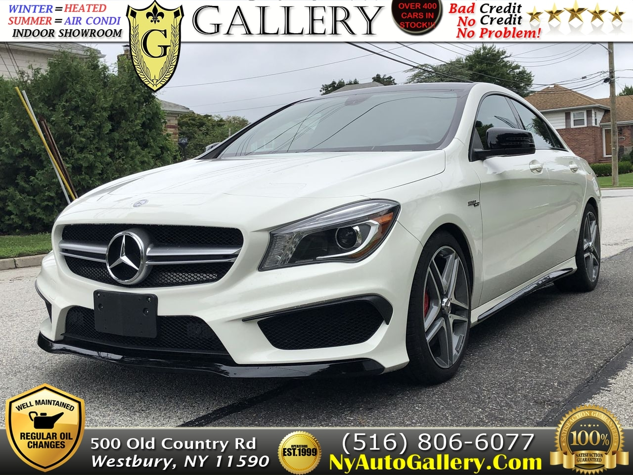 2014 Mercedes Benz CLA Class CLA 45 AMG Coupe