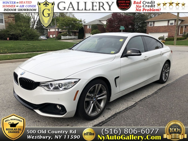 Used 2016 BMW 4-Series 428i w/SULEV Gran Coupe for Sale in Westbury, NY