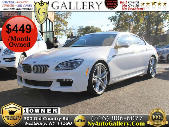 Used 2014 BMW 6-Series 650i Sport Gran Coupe for Sale in Westbury, NY