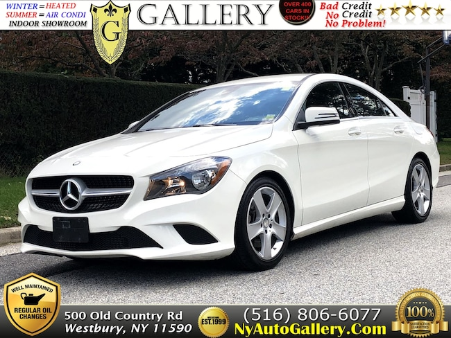 Used 2016 Mercedes-Benz CLA-Class CLA 250 4MATIC Coupe for Sale in Westbury, NY