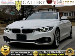 Used Luxury 2018 BMW 4-Series 430i Convertible for sale in Westbury, NY