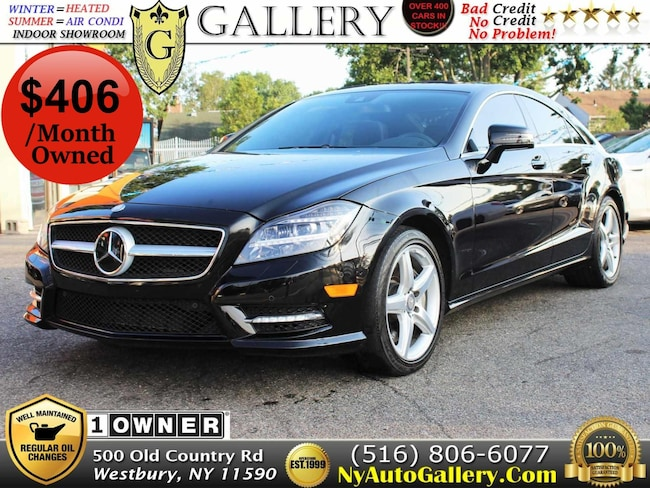 2014 Mercedes-Benz CLS-Class CLS550 4MATIC Coupe