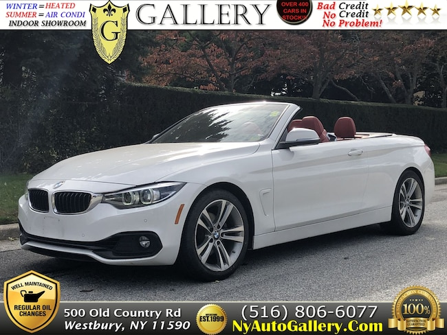 Used 2018 BMW 4-Series 430i Convertible for Sale in Westbury, NY