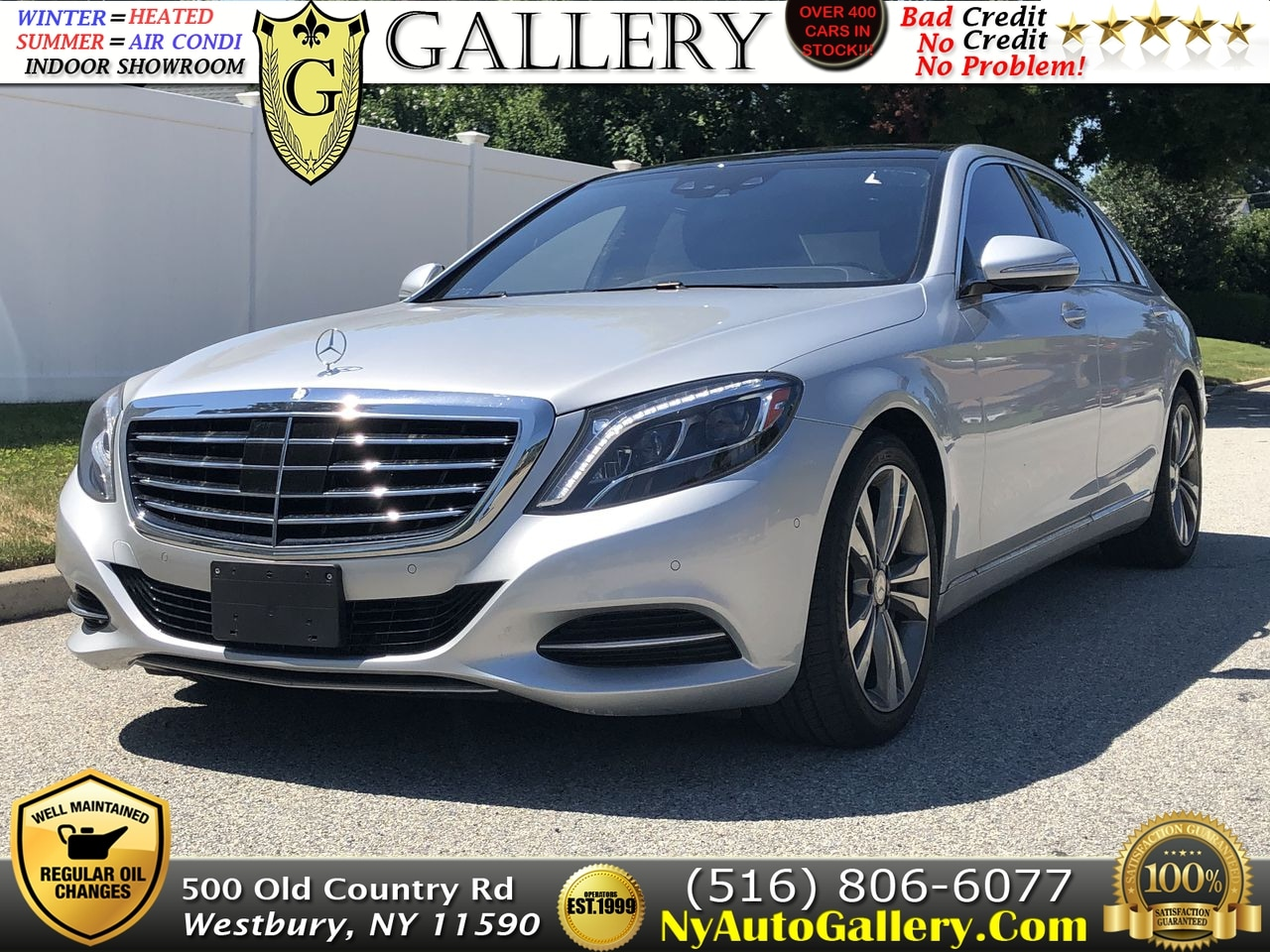 Elegant 2014 Mercedes Benz S Class S 550 4MATIC Sedan