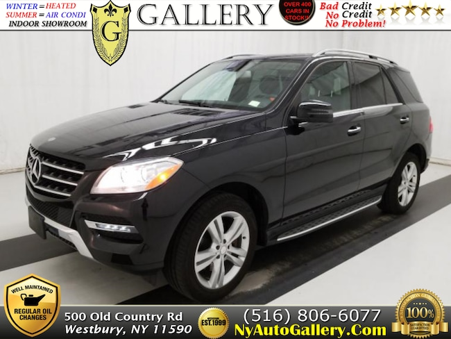 Used 2015 Mercedes-Benz M-Class ML 350 4MATIC SUV for Sale in Westbury, NY
