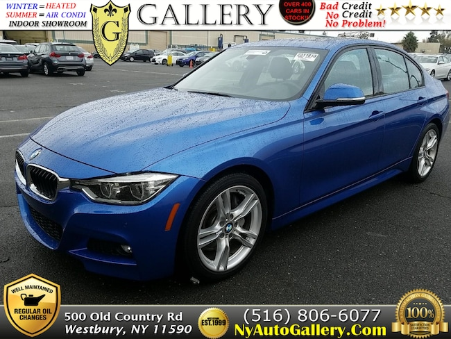 Used 2016 BMW 3-Series 328i Sedan for Sale in Westbury, NY