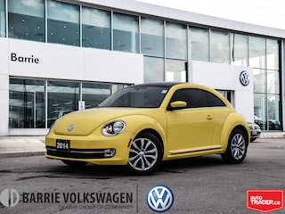 2014 Volkswagen Beetle Highline/0.90% FINANCE/Pano Sunroof/Heated Seats Hatchback