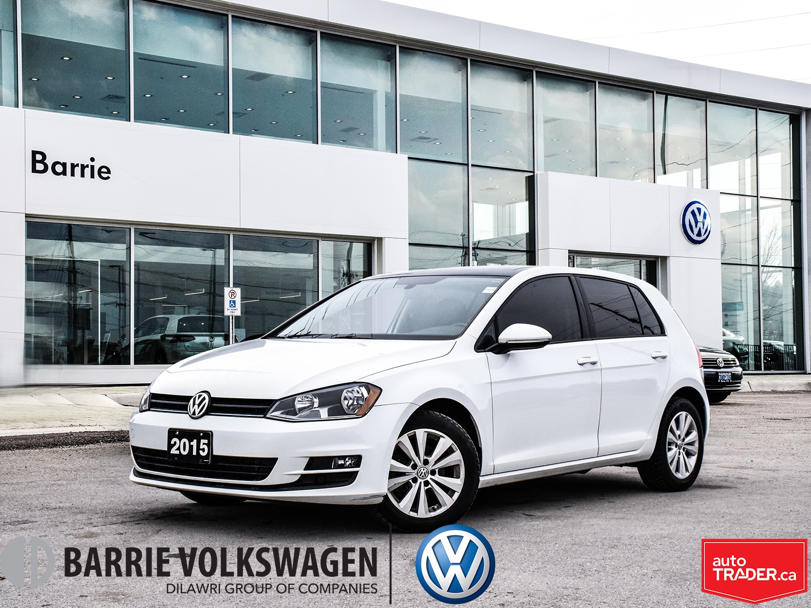2015 Volkswagen Golf TDI Comfortline/5-Door/2.99% AT 72 MOS Hatchback