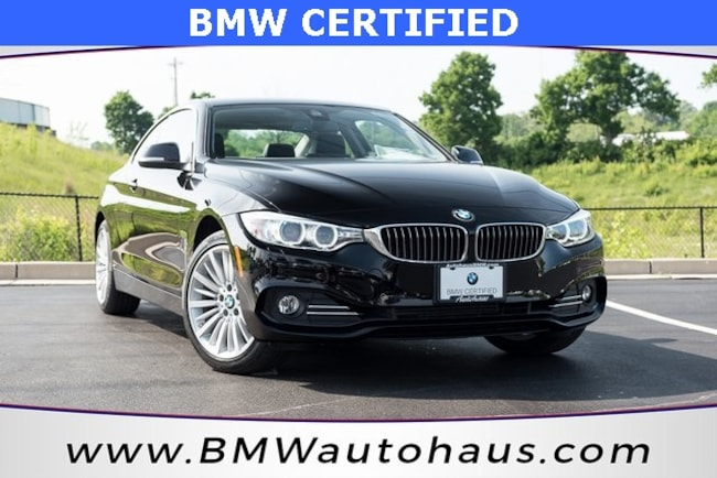 certified pre-owned 2015 BMW 4 Series 428i xDrive Coupe in st louis mo