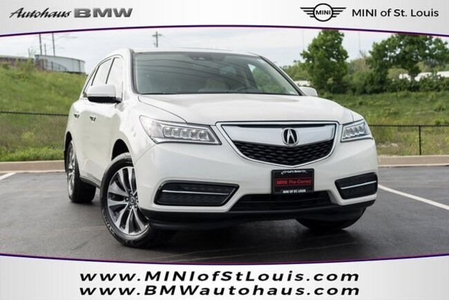 Acura Dealers St Louis >> Used 2016 Acura Mdx 3 5l In Saint Louis Mo Vin