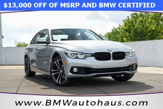 certified pre-owned 2018 BMW 3 Series 330i xDrive Sedan in st louis mo