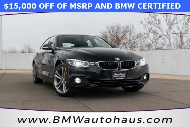 Pre-Owned 2018 BMW 4 Series 430i xDrive Gran Coupe Hatchback for sale in St. Louis, MO